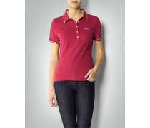 Damen Polo-Shirt in tailliertem Schnitt