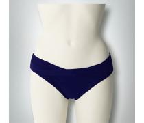 Damen Bademode Bikini Slip mit Drapierung
