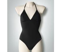 Damen Badeanzug mit Spitzeneinsatz