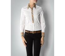 Damen Bluse mit Karo-Details