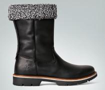 Damen Schuhe Boots mit Kunstfell-Futter