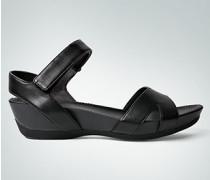 Damen Schuhe Sandale mit niedrigem Keilabsatz