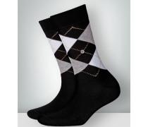 Damen Socken Socke 'Convent Garden' im 3er Pack