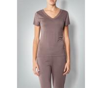 Pyjama-T-Shirt mit Zierborte