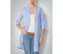 Damen Bluse Tunika aus leichtem Baumwolle-Leinen