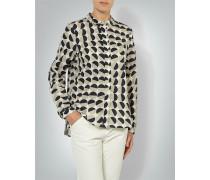 Damen Bluse in leicht ausgestelltem Schnitt