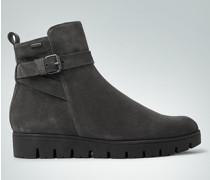 Damen Schuhe Stiefelette mit Keilabsatz