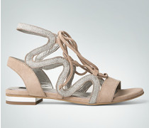 Damen Schuhe Riemen-Sandalen im Römer-Stil