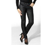 Damen Jeans Baumwolle-Elasthan navy