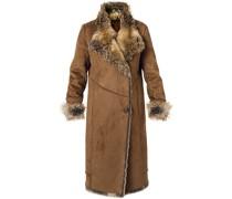 Mantel Saphira aus Kunstpelz