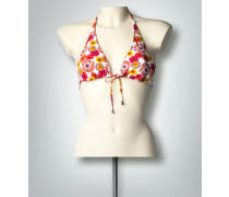 Damen Bademode Bikini-Oberteil mit floralem Print