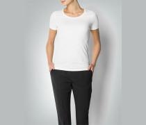 Damen Shirt aus Baumwoll-Stretch