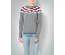 Damen Pullover im Norweger-Stil