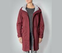 Damen Mantel Regen-Parka mit integierter Tasche