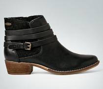 Damen Schuhe Stiefelette mit Kontrasteinsatz