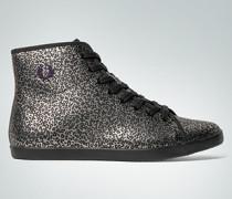 Damen Schuhe Knöchelhoher Sneaker in Leo-Print
