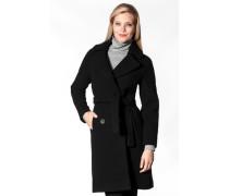 Damen Mantel Wollmischung