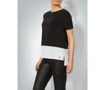 Damen T-Shirt im Zweilagen-Look