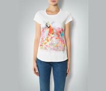 Damen Shirt mit Papagei-Print