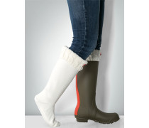Damen Socken Fleece-Socken mit Umschlag