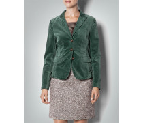 Damen Blazer in Samt-Optik