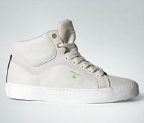 Damen Schuhe Sneaker im Material-Mix