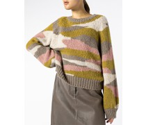 Pullover im Alpaka Mix