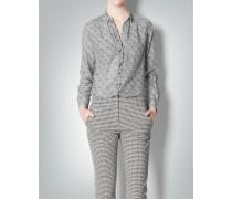 Damen Bluse mit Allover Print aus Chiffon