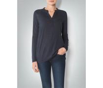 Damen T-Shirt Longsleeve mit Chiffon-Details