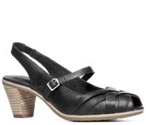 Damen Schuhe Sandalette Nappaleder