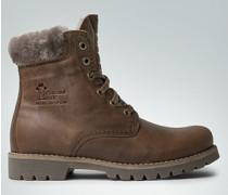 Damen Schuhe Booties mit Lammfell