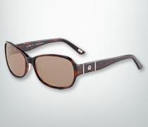 Damen Brille Sonnenbrille in cleanem Look