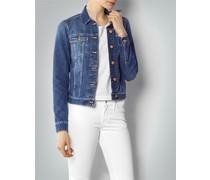 Damen Jeansjacke in modischer Waschung