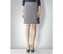 Tweed-Rock aus Baumwolle