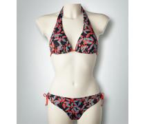 Damen Bademode Neckholder-Bikini mit Schleifen-Details