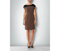 Kleid mit Seideneinsatz