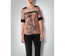 Damen Bluse mit Pythonprint