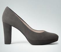 Damen Schuhe Pumps mit kleinem Plateau