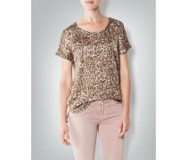 Damen Shirt mit Camouflage-Muster