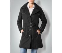 Mantel Trenchcoat aus Funktionsmaterial