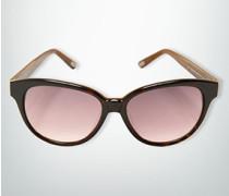 Damen Brille Sonnenbrille in verschiedenen Maserungen