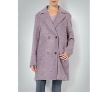 Damen Mantel aus Schlingenware