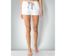Damen Nachtwäsche Pyjama-Shorts in Spitzen-Optik