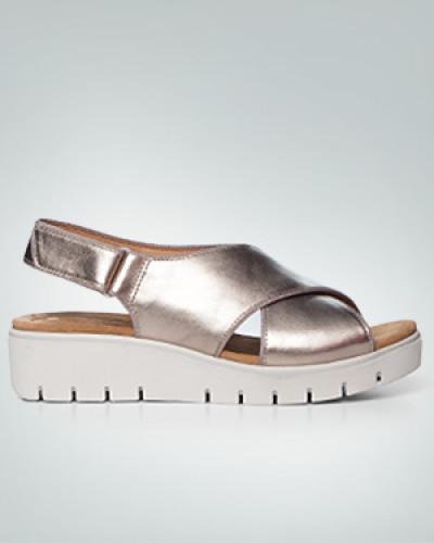 Schuhe Sandale mit Plateau-Sohle