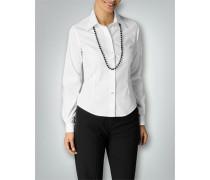 Damen Klassische Bluse in tailliertem Schnitt