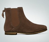 Damen Schuhe Chelsea Boots mit Profilsohle