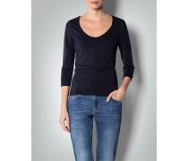 Damen Shirt mit großem Rundhals-Ausschnitt