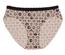 Wäsche Bikini Slip mit Spitzenborte