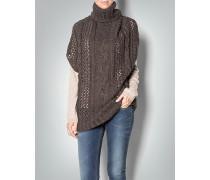 Damen Pullover im Poncho-Look