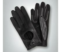 Damen Handschuhe aus perforiertem Ziegennappa